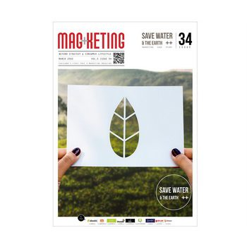"""นิตยสารMagketing) vol.34  """"SAVE WATER & THE EARTH"""""""