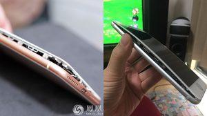 งานงอก!! iPhone 8 Plus สองเครื่องหน้าจอแยกออกจากตัวบอดี้ระหว่างชาร์จแบต