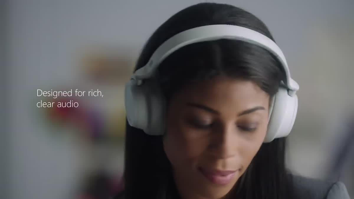 Surface Headphones หูฟัง Bluetooth รุ่นใหม่จาก Microsoft รองรับระบบลดเสียงรบกวนได้ 13 ระดับ