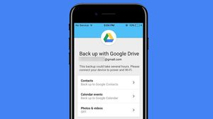 Google อัพเดทแอพ Google Drive บน iOS แบ็คอัพข้อมูลได้ง่ายๆ