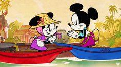 แฟนไทยได้เฮ!! การ์ตูนดัง Mickey Mouse ถ่ายทอดวิถีตลาดน้ำแบบไทยๆ แถมยังพากย์ไทย