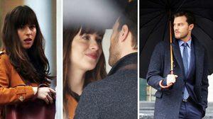 กลางสายฝนพรำ! แอนา กับ เกรย์ จูบอย่างเร่าร้อนใน Fifty Shades Darker