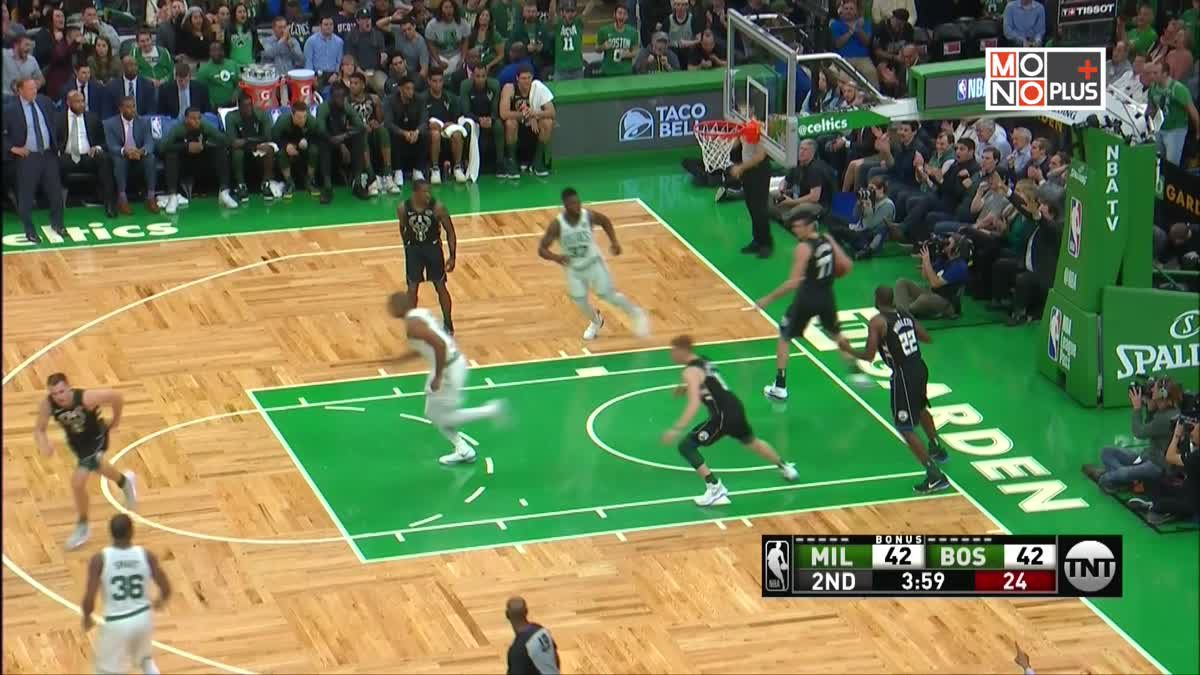 [Highlight] Milwaukee Bucks VS. Boston Celtics