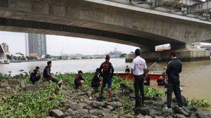 หนุ่มโดดสะพานพระราม 7 ฆ่าตัวตาย จมหายไร้วี่แวว