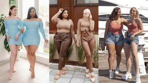 2สาวคู่ซี้ต่างไซส์ ผู้ลบภาพความเชื่อของเสื้อผ้า ความสวยและสไตล์ไม่ได้อยู่ขนาด