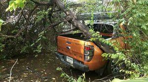 พายุฤดูร้อนถล่มอุบลฯบ้านปชช.เสียหายกว่า100หลัง