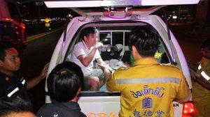 หนุ่มทะเลาะกับแฟนจอดรถให้ลงกลางถนนก่อนแฟนสาวถูกรถชนเสียชีวิต