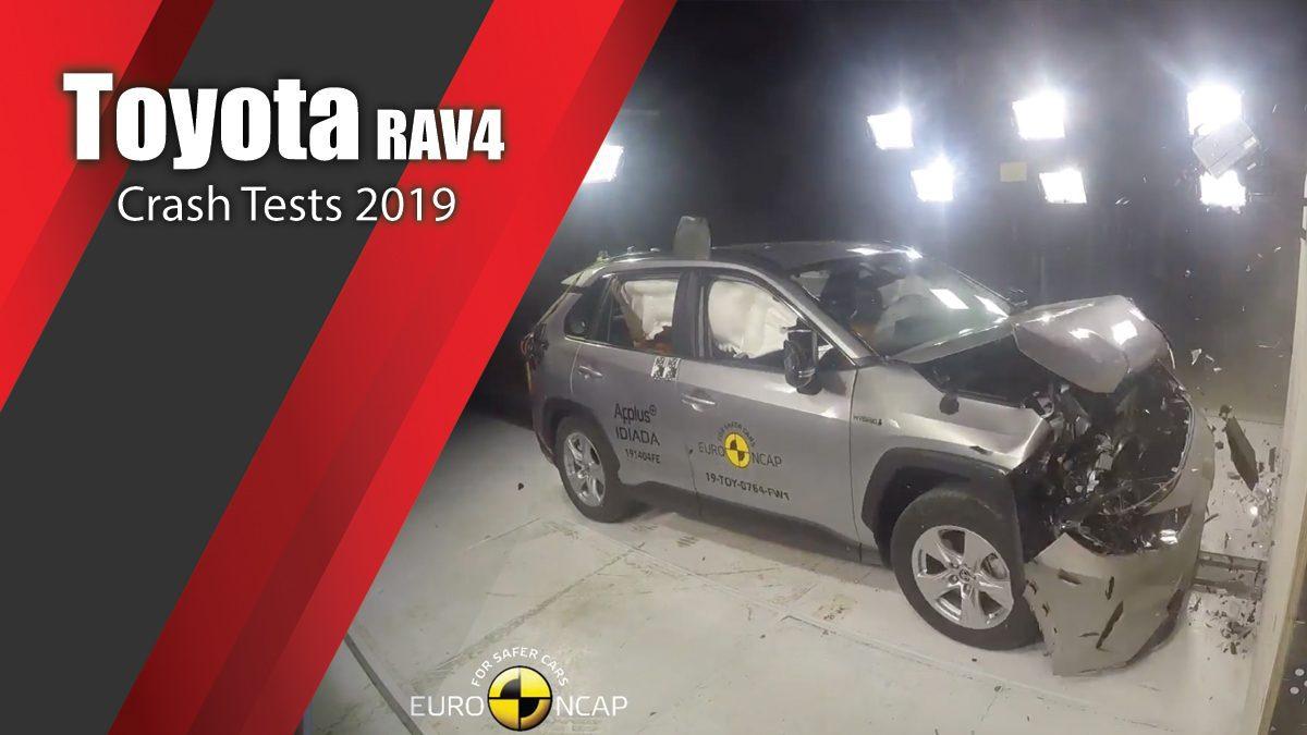 ท้าพิสูจน์ระบบรักษาความภัยของ Toyota RAV4 - Crash Tests 2019