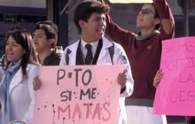 นักศึกษาแพทย์เม็กซิกันประท้วง เรียกร้องความปลอดภัยเพิ่มขึ้น