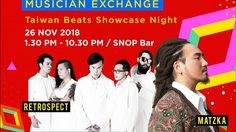 Retrospect แท็คทีมวงดนตรีจากไต้หวัน เตรียมร่วมงาน Taiwan Beats Showcase Night