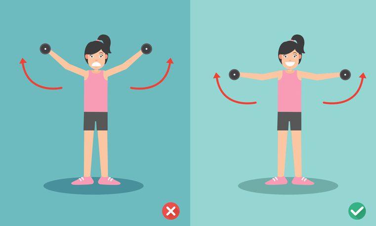 ท่าออกกำลังกาย