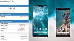 เผยสเปค Google Pixel 3 XL มาพร้อม Android P ใช้ชิป Snapdragon 845