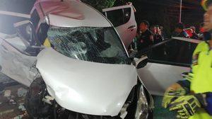 เสี่ยรถเบนซ์ไม่รอด โดน 2 ข้อหาหนัก หลังเมาขับชนรถรองผกก.กองปราบฯ เสียชีวิต