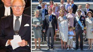 กษัตริย์สวีเดน สั่งถอดยศราชวงศ์ หวังลดค่าใช้จ่าย ควบคุมการใช้งบประมาณ