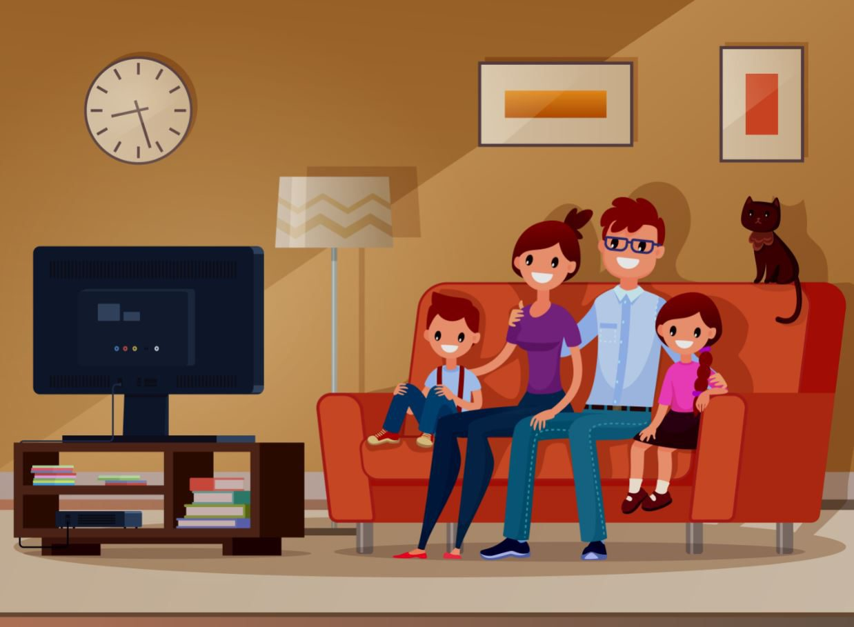 ความแตกต่างระหว่างทีวีจอตรงกับทีวีจอโค้ง