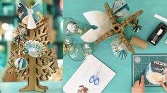 DIY ไอเทม แต่งต้นคริสต์มาส จากบรรจุภัณฑ์กระดาษเหลือใช้ พร้อมวิธีทำด้วยตนเอง
