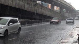 ไทยฝนลดลง กทม. ตก 70 % ฟ้าคะนองช่วงบ่ายถึงค่ำ