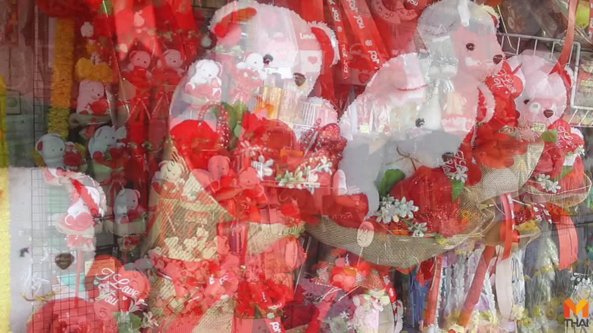 ราคาดอกกุหลาบ เริ่มปรับตัวขึ้น รับ วาเลนไทน์ นี้