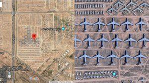 ทึ่ง! Google Maps เปิดภาพ สุสานเครื่องบิน ที่ใหญ่ที่สุดบนโลก กว่า 4,400 ลำ