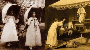 ภาพประวัติศาสตร์เกาหลีสมัยที่ยังไม่แบ่งแยกดินแดน