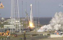 นอร์ทธรอป กรัมแมน ส่งยานอวกาศซิกนัสไปยัง ISS