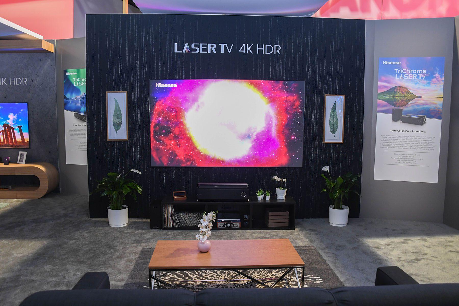 """""""ไฮเซ่นส์"""" โชว์เทคโนโลยีสุดล้ำรับอนาคต พลิกกระแสตลาดทีวีลักซ์ชัวรี่ด้วยเลเซอร์ทีวีรุ่นใหม่"""