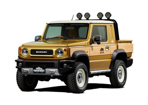 Suzuki Jimmy Sierra Pickup Style