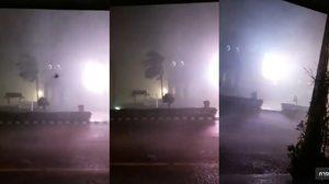 อ่วม! พายุถล่ม จ.อำนาจเจริญ ทำไฟดับ-น้ำท่วมขัง หลายจุด