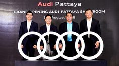 เปิดตัวดีลเลอร์ โชว์รูมและศูนย์บริการ Audi ที่พัทยา ลงทุนกว่า 100 ล้านบาท