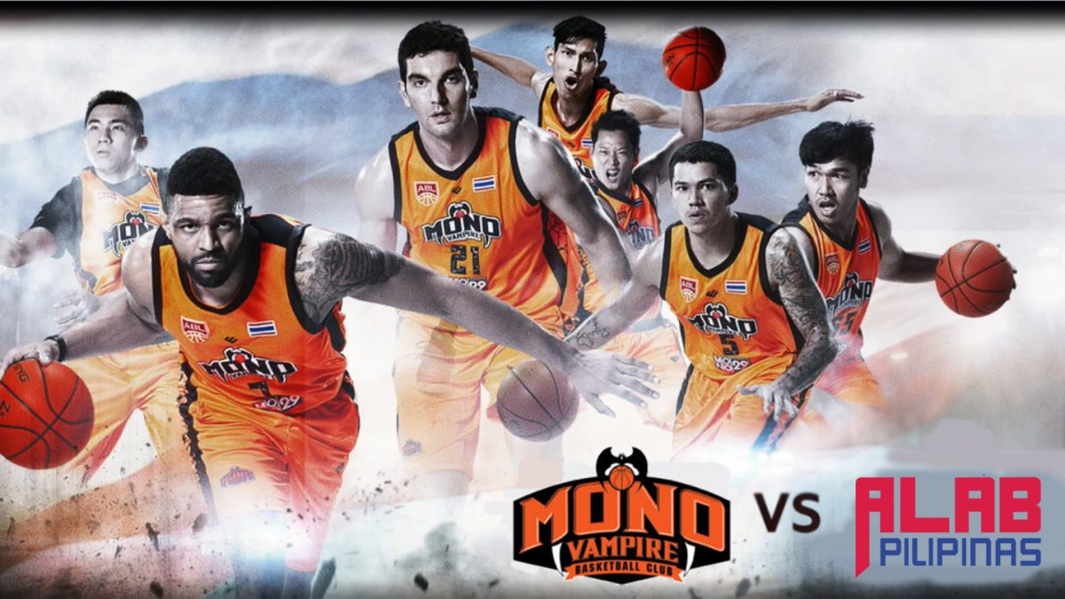 ร่วมส่งแรงเชียร์! Mono Vampire Vs Alab PilipinasRoad To Finals ABL Game 3