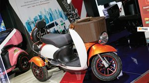 H SEM MOTOR เปิดตัว SEV CESTA รถสามล้อน้องใหม่ในงาน Motor Expo 2018