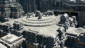 น่าทึ่ง!! วัดเก่าแก่ฮินดูโบราณ อายุ 1,200 ปี ที่แกะสลักด้วยมือ เพียงก้อนหินก้อนเดียว
