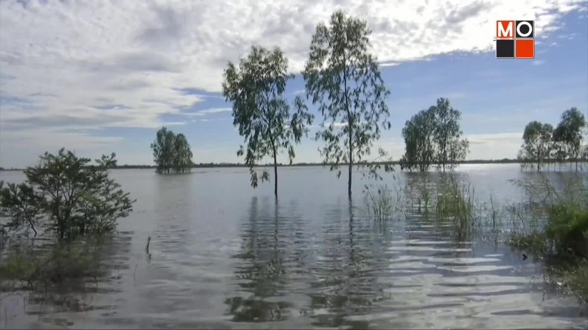 ชาวบ้านริมแม่น้ำยังเผชิญน้ำท่วม