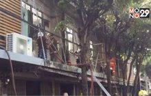 ไฟไหม้อาคารพาณิชย์ย่านตลาดพลูวอด 6 คูหา