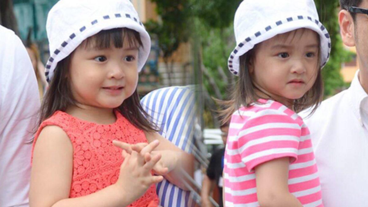 ดูชัดๆ! น้องฌานา-ฌารีน ลูกแฝด เอ็ม อภินันท์ ยิ่งโต ยิ่งสวย