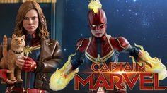 ฟิกเกอร์ Captain Marvel (เวอร์ชั่นดีลักซ์) ขนาด 1/6 พร้อมแมวกูส ควรค่าแก่การสะสมที่สุด!!