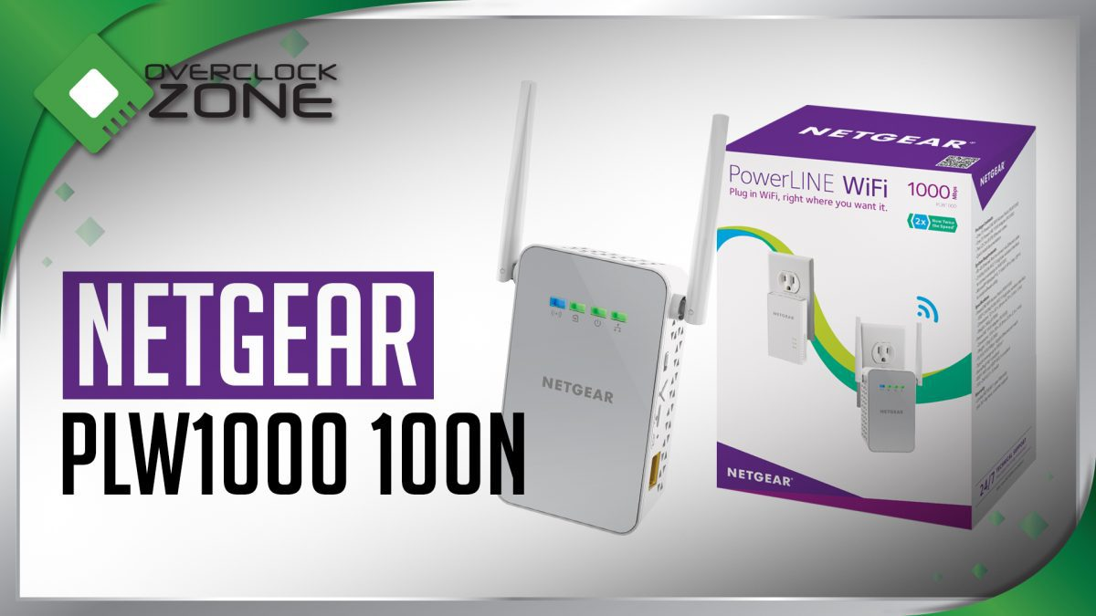 รีวิว NETGEAR PLW1000 100N : Powerline Adapter + Range Extender