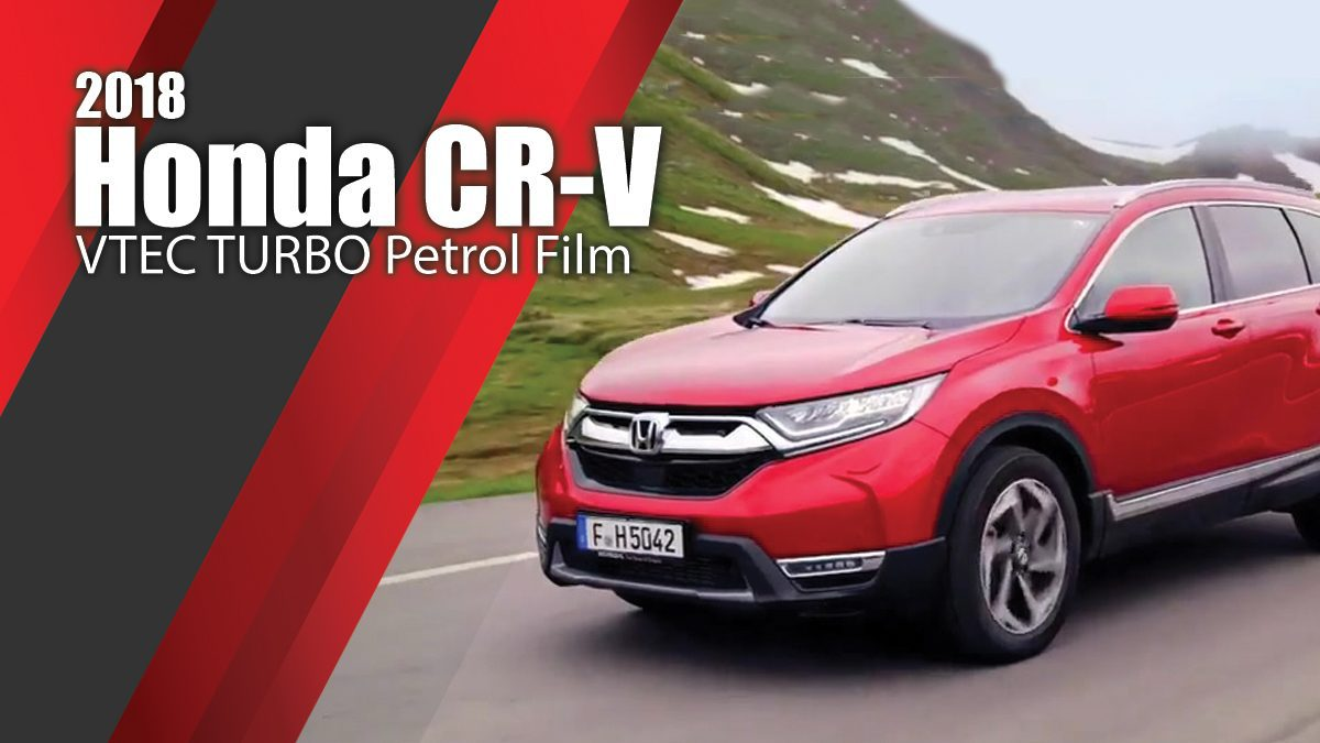 2018 Honda CR-V VTEC TURBO Petrol Film