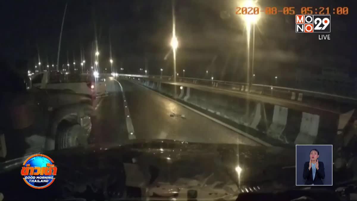 ดาวร้ายลิเกลงไปช่วยรถเสียกลับเจออุบัติเหตุเสียชีวิต