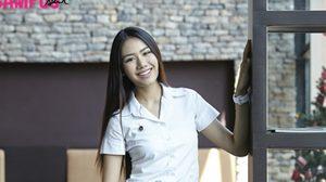 น้องแจมมี่ สาวสวยหน้าไทย ยิ้มมีเสน่ห์ จากรั้วมหิดล