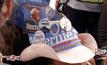 ประเพณีตกแต่งหมวกในที่ประชุมพรรคเดโมแครตของสหรัฐฯ