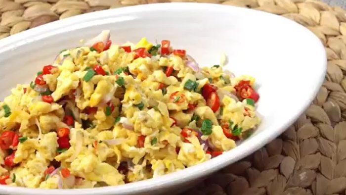วิธีทำ ไข่ขยี้ เมนูทำง่าย อร่อยในราคาเบาๆ