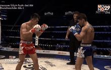 คู่ที่ 7 Super Fight อภิศักดิ์ ไฟท์ แฟคทอรี่ ยิม VS จาง ซุนยู่