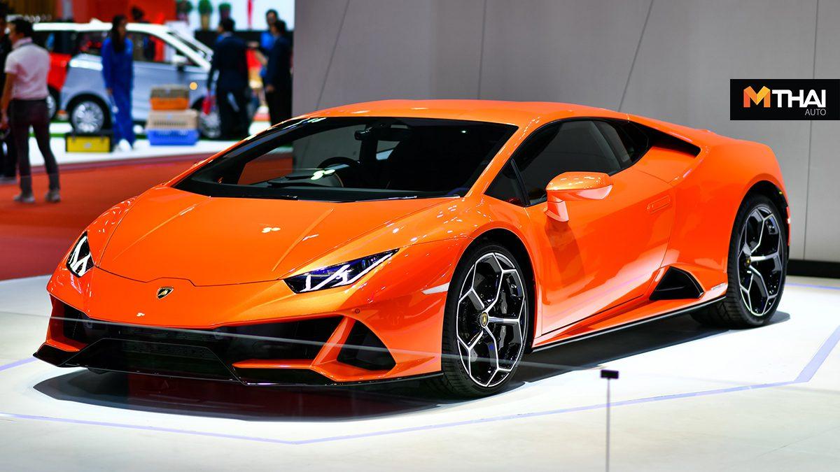 Lamborghini นำ Huracan EVO สปอร์ตคาร์อวดโฉมในงาน Motor Show 2019