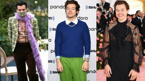 Harry Styles ตัวพ่อแห่ง Genderless Fashion เสื้อผ้าไม่มีเพศ