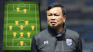 มุ้ยหลุดสำรอง! 'ทีมชาติไทย' ประกาศ 11 ตัวจริงลุยเวียดนาม คิงส์คัพ ครั้งที่ 47