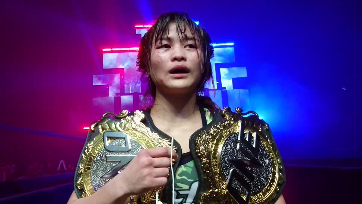 แสตมป์ แฟร์เท็กซ์ ให้สัมภาษณ์หลังซิวแชมป์มวยไทย ONE Championship