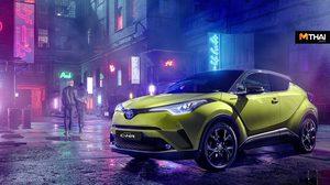 Toyota C-HR Neon Lime รุ่นพิเศษเด่นที่สีเเละเครื่องเสียง JBL