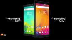 Blackberry เปิดตัว Evolve และ Evolve X มาพร้อมแบตเตอรี่ขนาดใหญ่ 4000 mAh