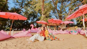 Tutu Beach คาเฟ่สีชมพู สไตล์ฮาวาย ที่เที่ยวริมหาดพัทยา